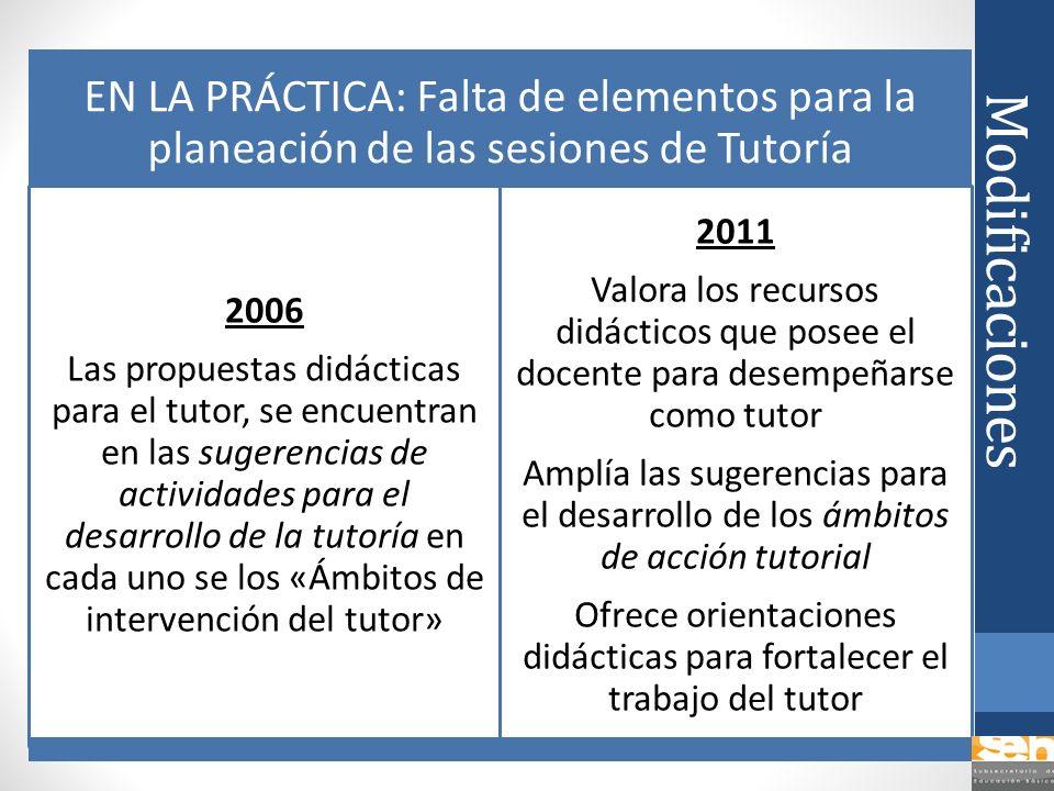 Ofrece orientaciones didácticas para fortalecer el trabajo del tutor