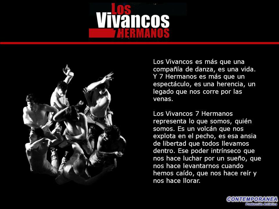 Los Vivancos es más que una compañía de danza, es una vida.