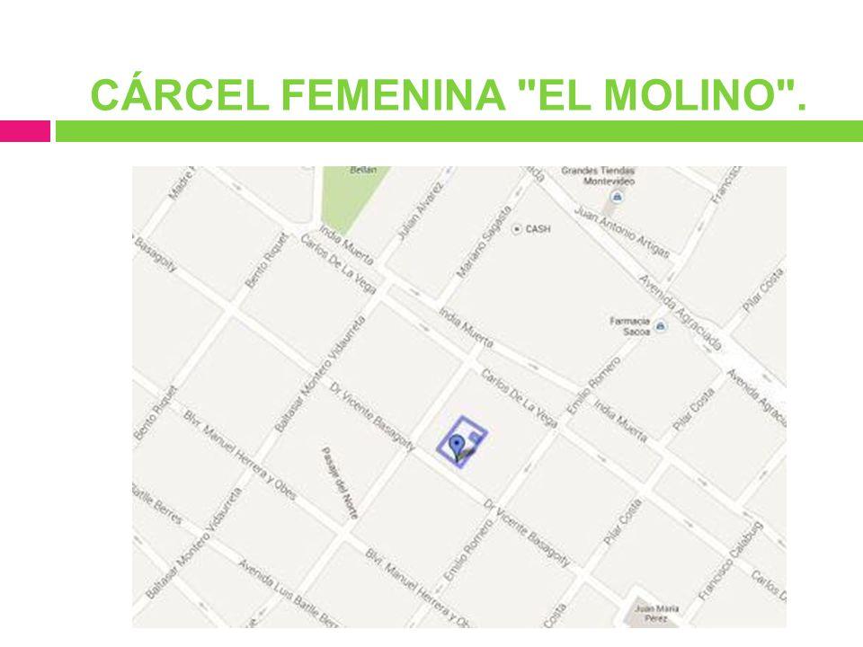 CÁRCEL FEMENINA EL MOLINO .