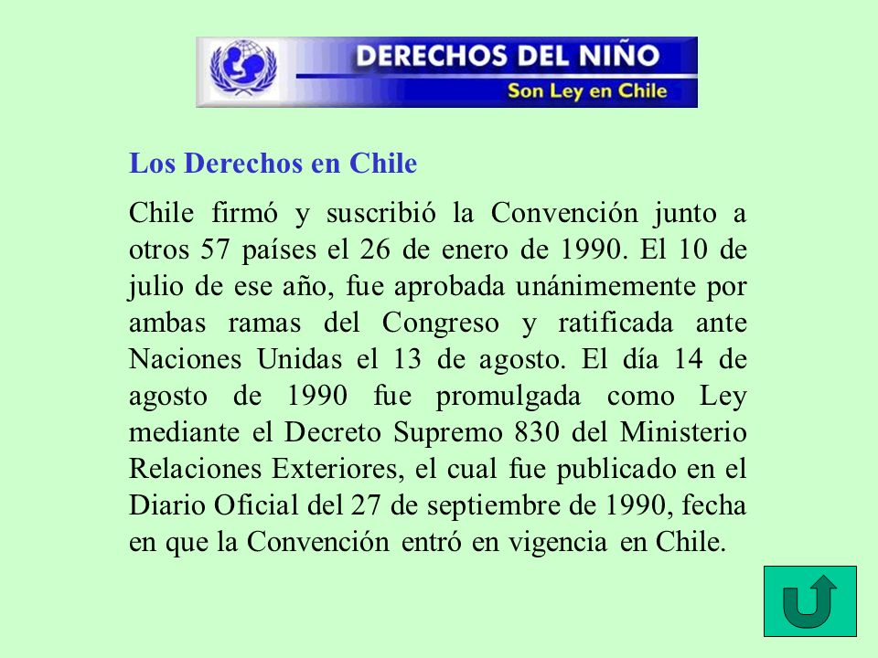 Los Derechos en Chile