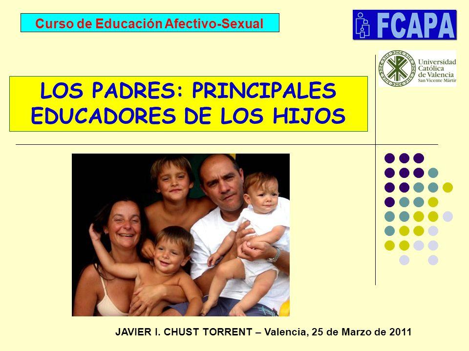 LOS PADRES: PRINCIPALES EDUCADORES DE LOS HIJOS