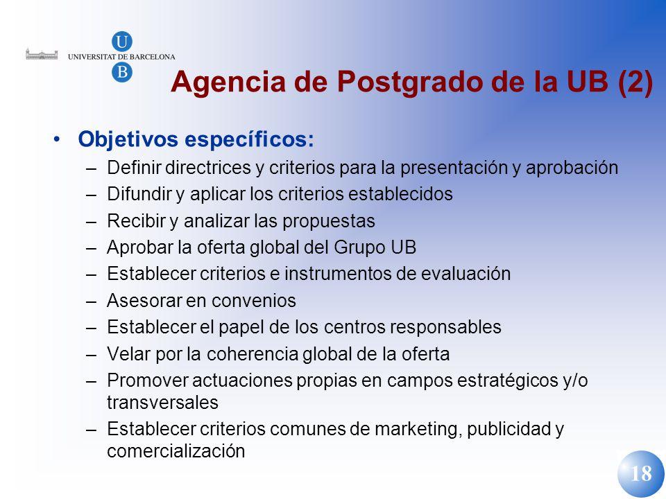 Agencia de Postgrado de la UB (2)