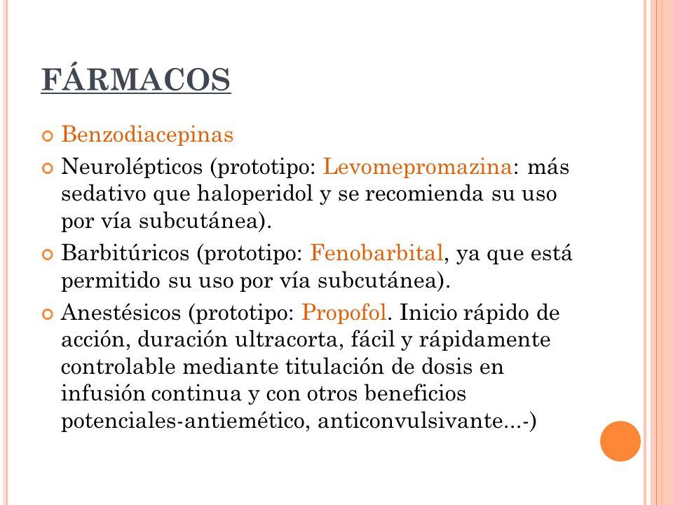 FÁRMACOS Benzodiacepinas