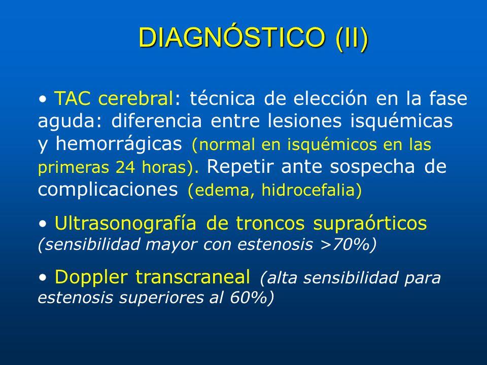 DIAGNÓSTICO (II)
