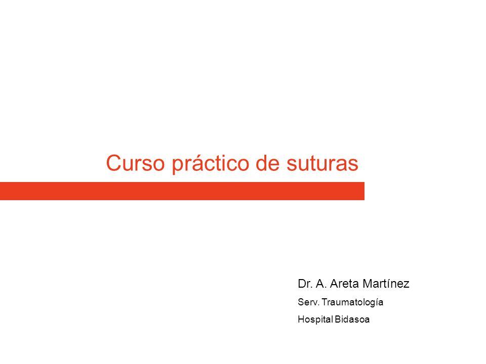 Curso práctico de suturas