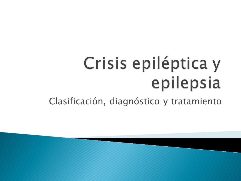 Crisis epiléptica y epilepsia
