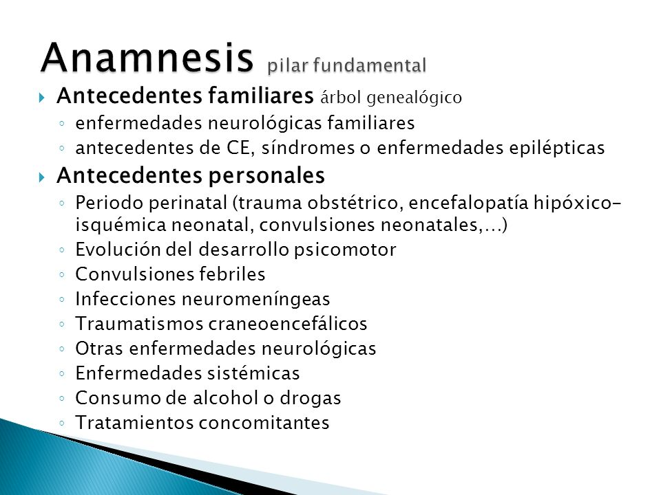 Anamnesis pilar fundamental