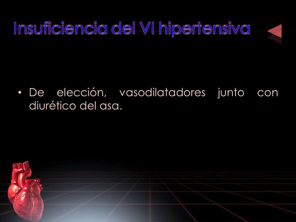 Insuficiencia del VI hipertensiva