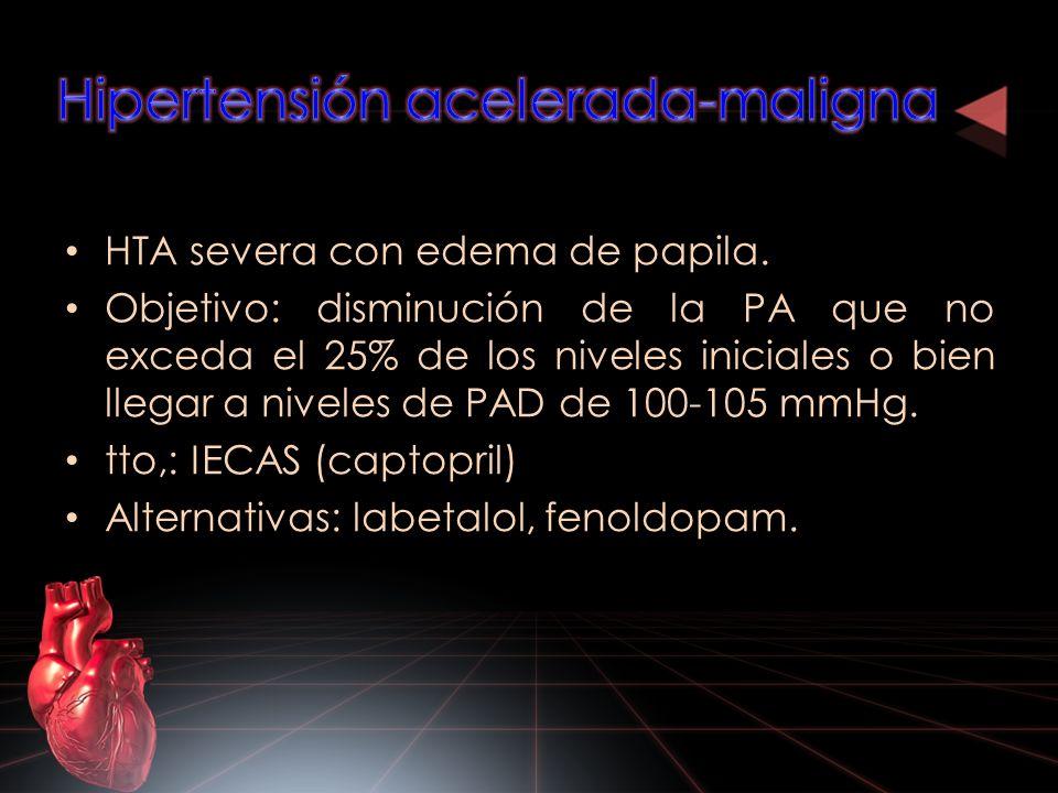 Hipertensión acelerada-maligna