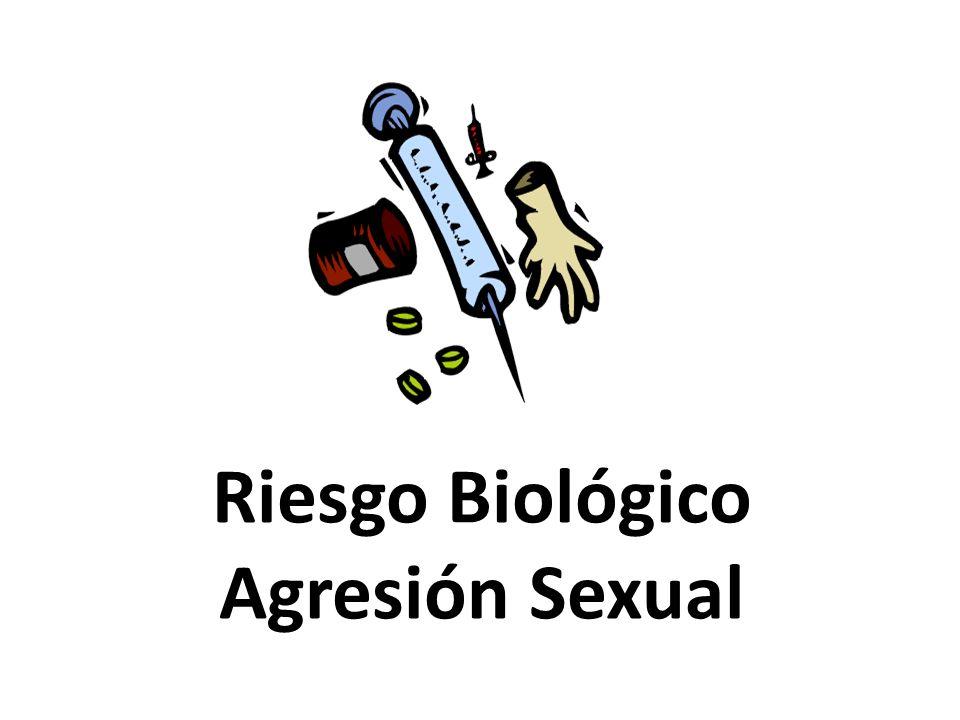 Riesgo Biológico Agresión Sexual