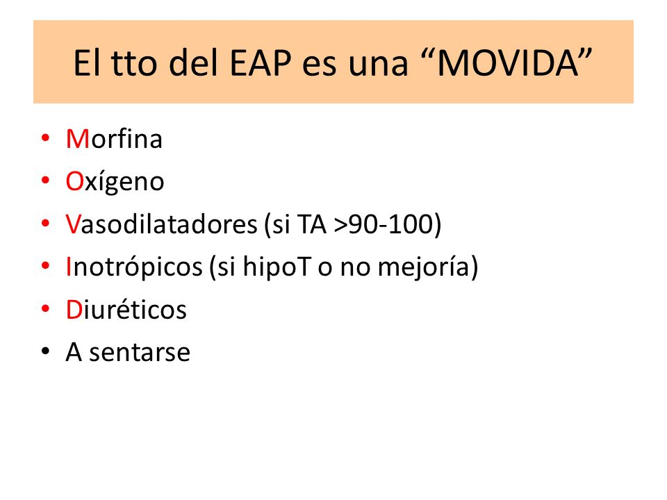 El tto del EAP es una MOVIDA