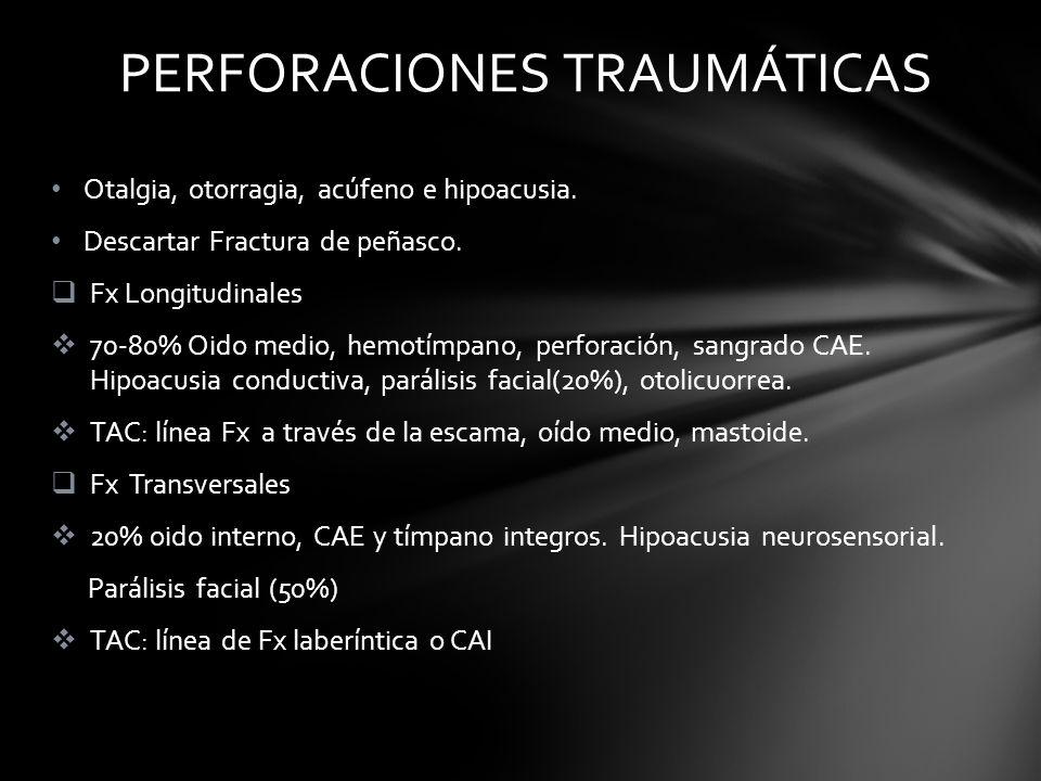 PERFORACIONES TRAUMÁTICAS