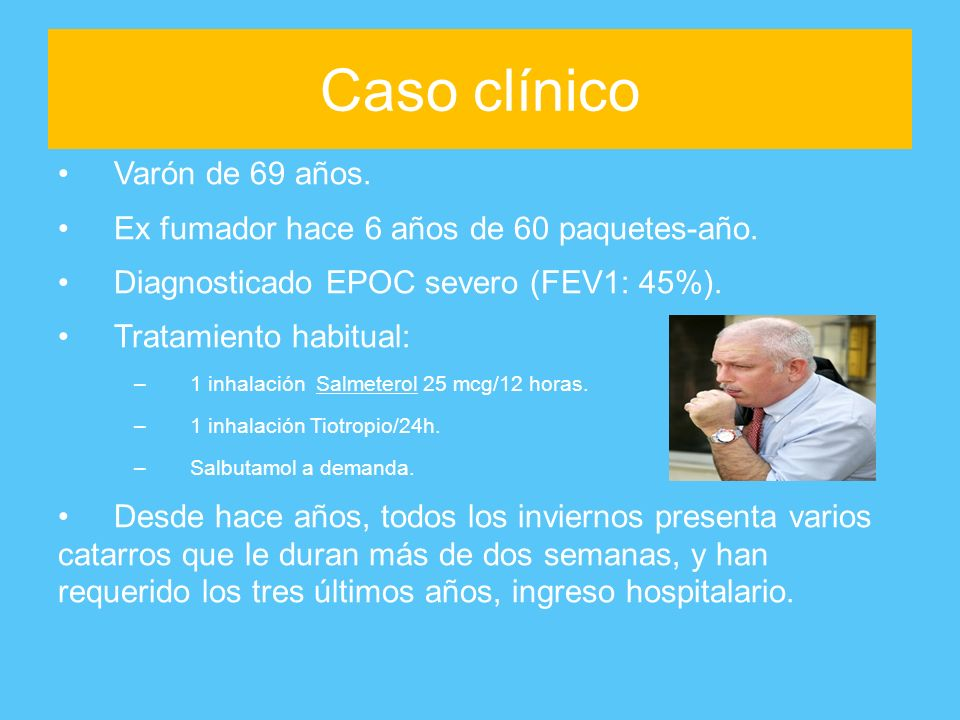 Caso clínico Varón de 69 años.