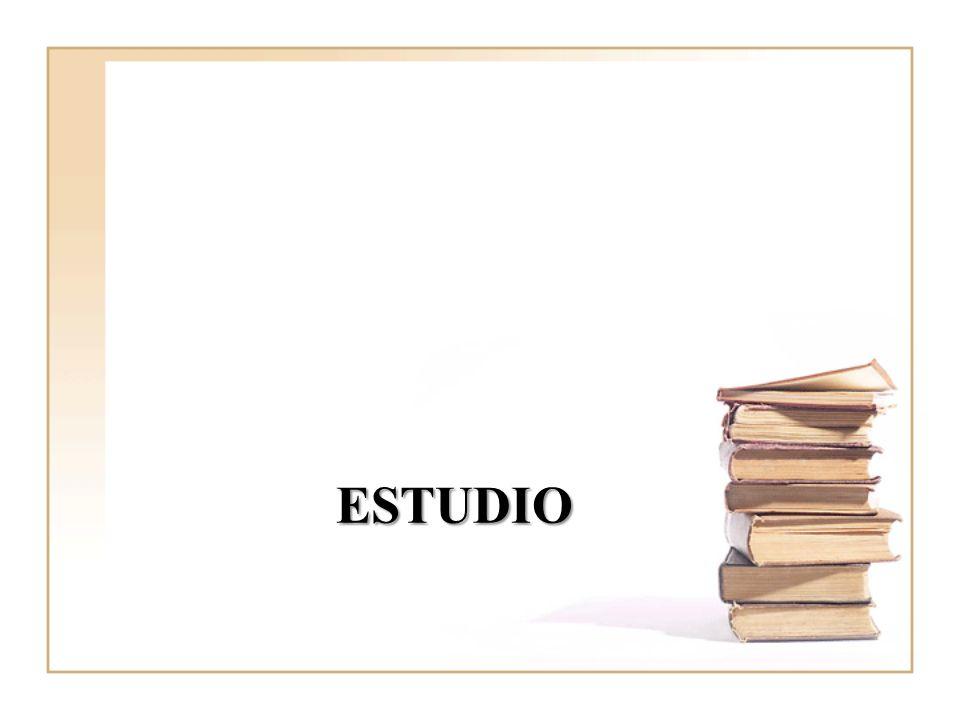 ESTUDIO Foto. Poco representativo pq muestra pequeña