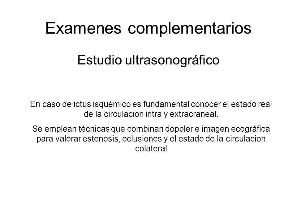 Examenes complementarios