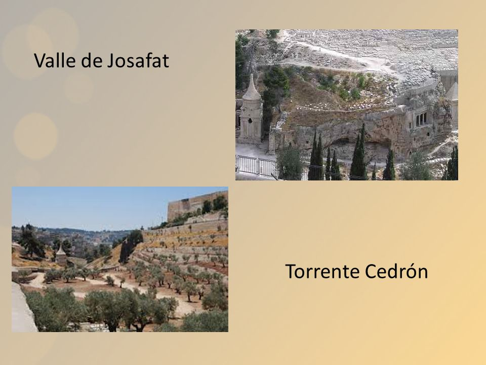 Valle de Josafat Torrente Cedrón