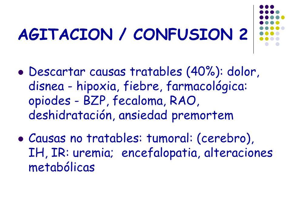 AGITACION / CONFUSION 2