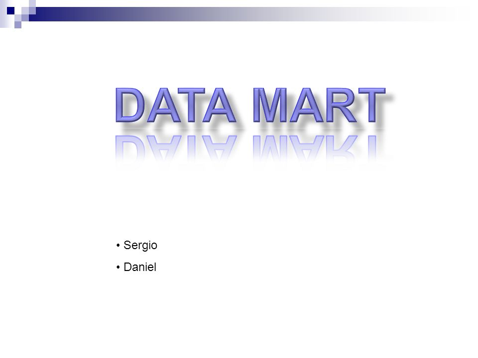 DATA MART Sergio Daniel