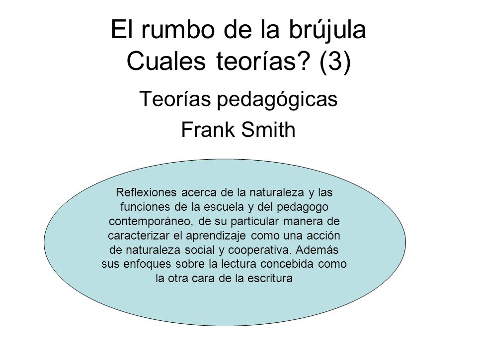 El rumbo de la brújula Cuales teorías (3)