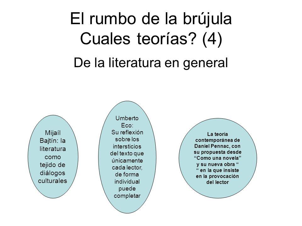 El rumbo de la brújula Cuales teorías (4)