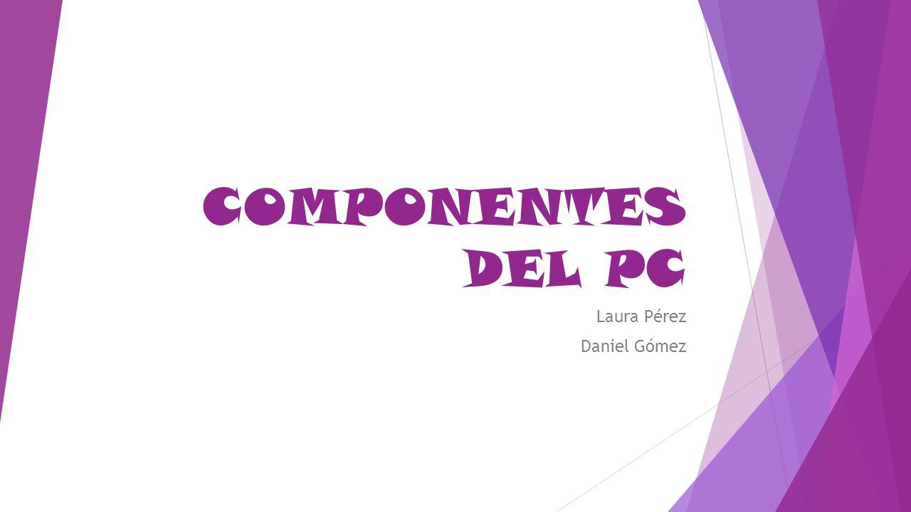 Laura Pérez Daniel Gómez