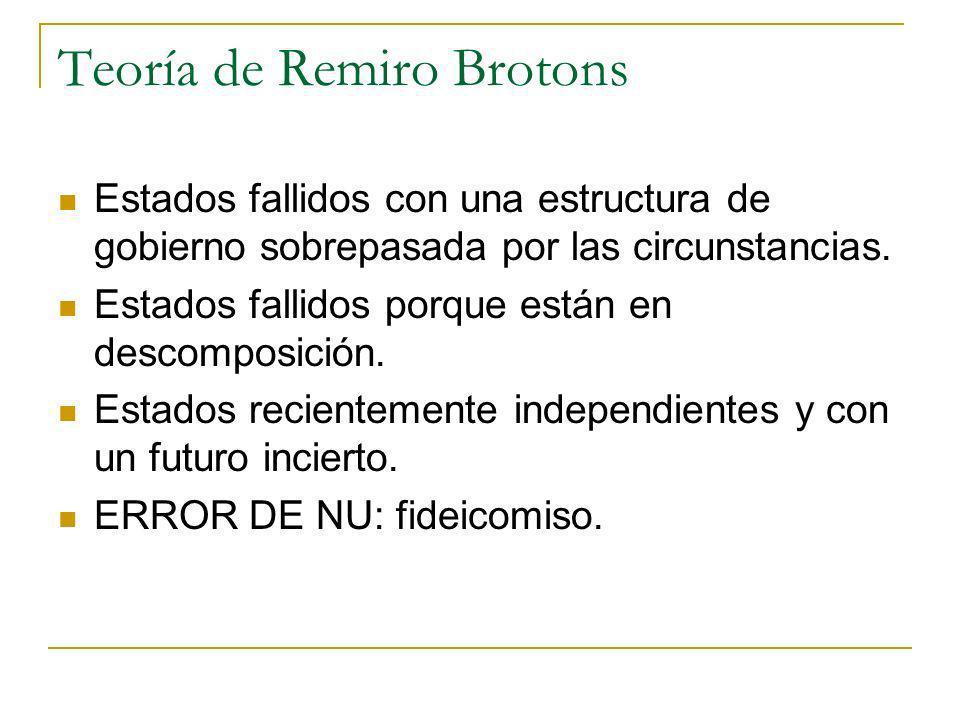 Teoría de Remiro Brotons