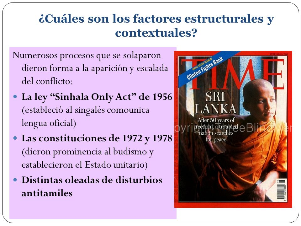 ¿Cuáles son los factores estructurales y contextuales