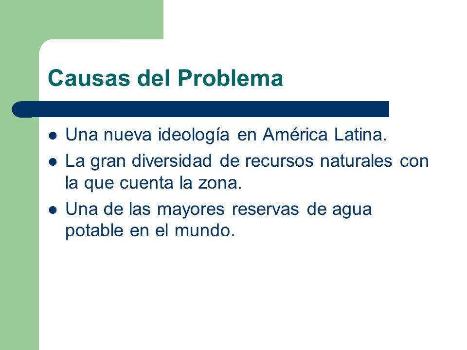 Causas del Problema Una nueva ideología en América Latina.
