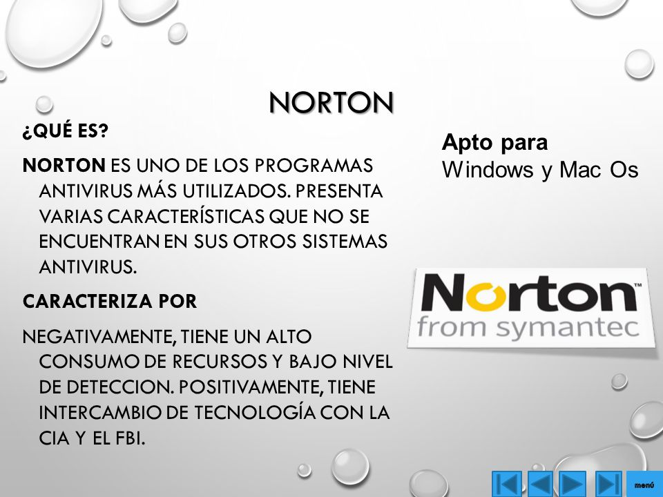 Norton Apto para Windows y Mac Os
