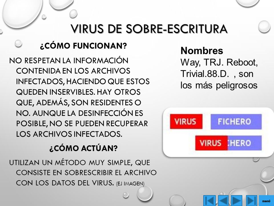 Virus de Sobre-Escritura