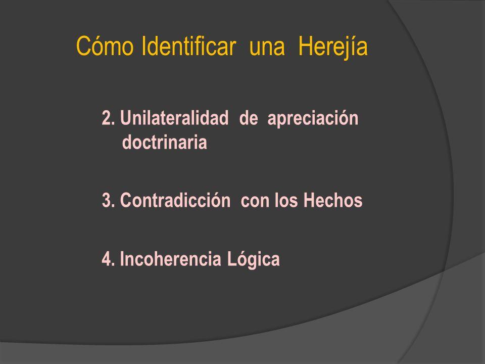 Cómo Identificar una Herejía