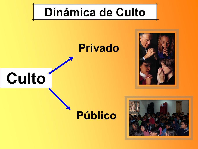 Dinámica de Culto Privado Culto Público