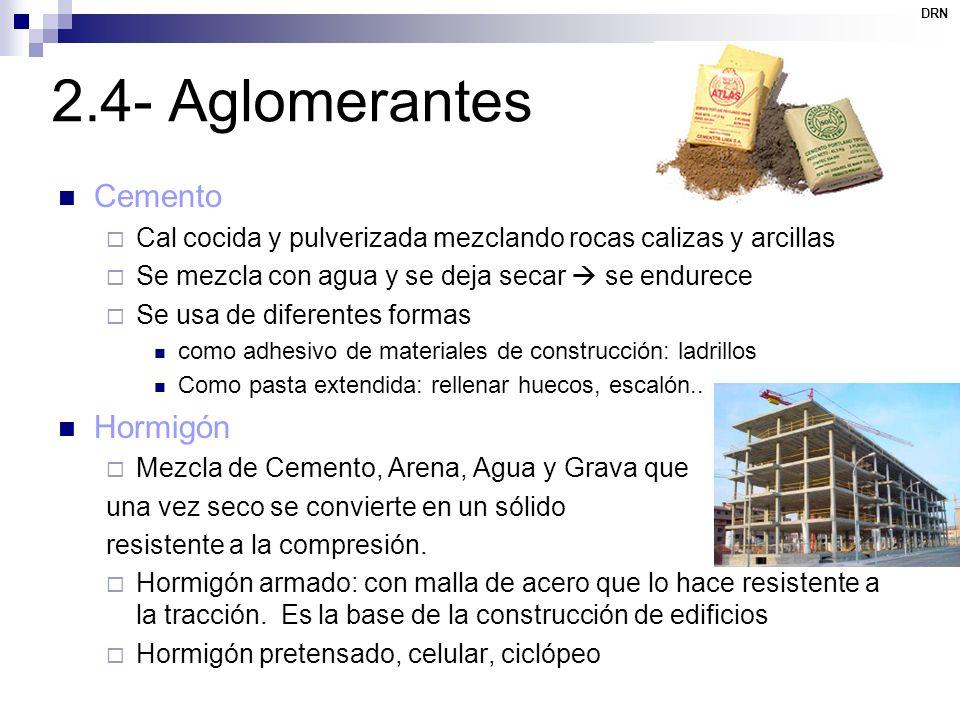 2.4- Aglomerantes Cemento Hormigón