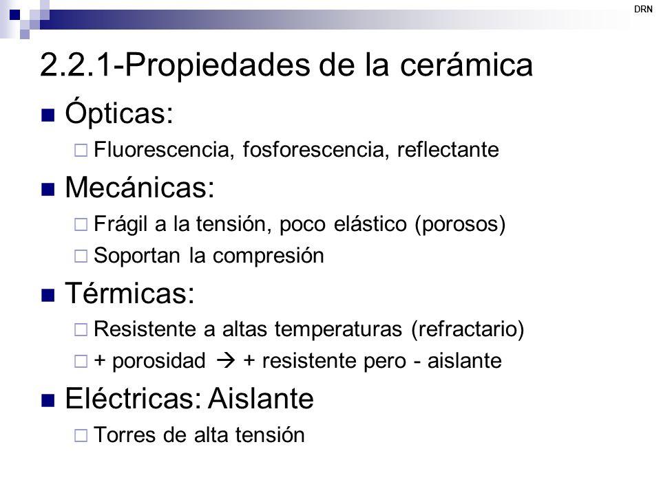 2.2.1-Propiedades de la cerámica