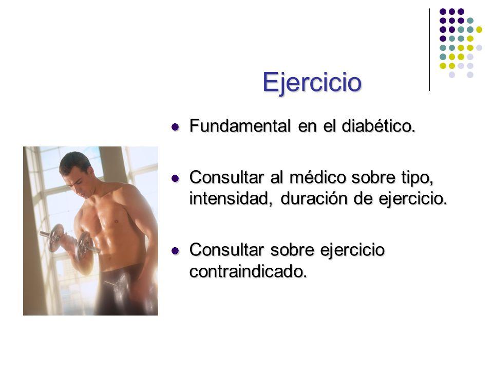 Ejercicio Fundamental en el diabético.