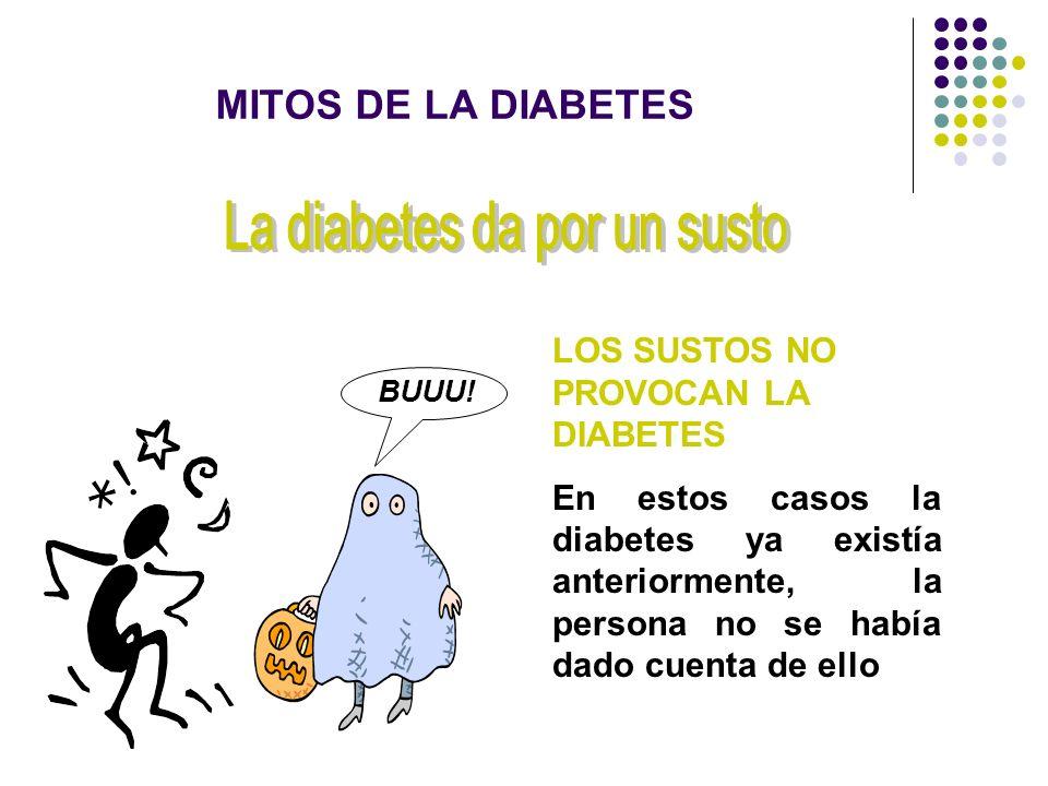 La diabetes da por un susto