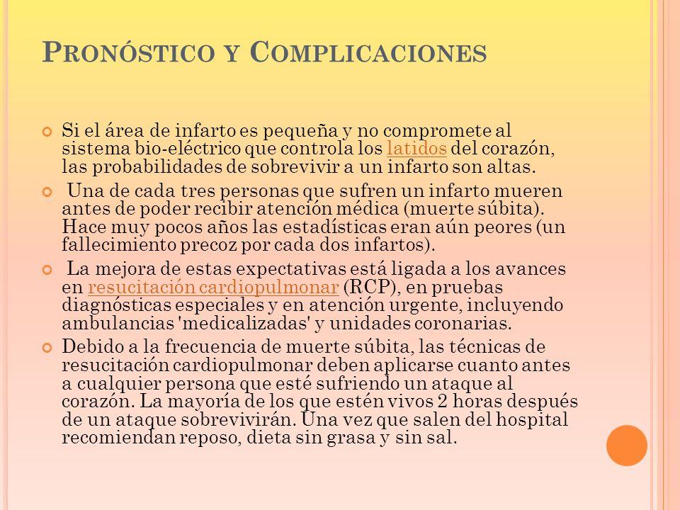Pronóstico y Complicaciones