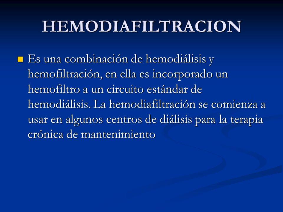 HEMODIAFILTRACION