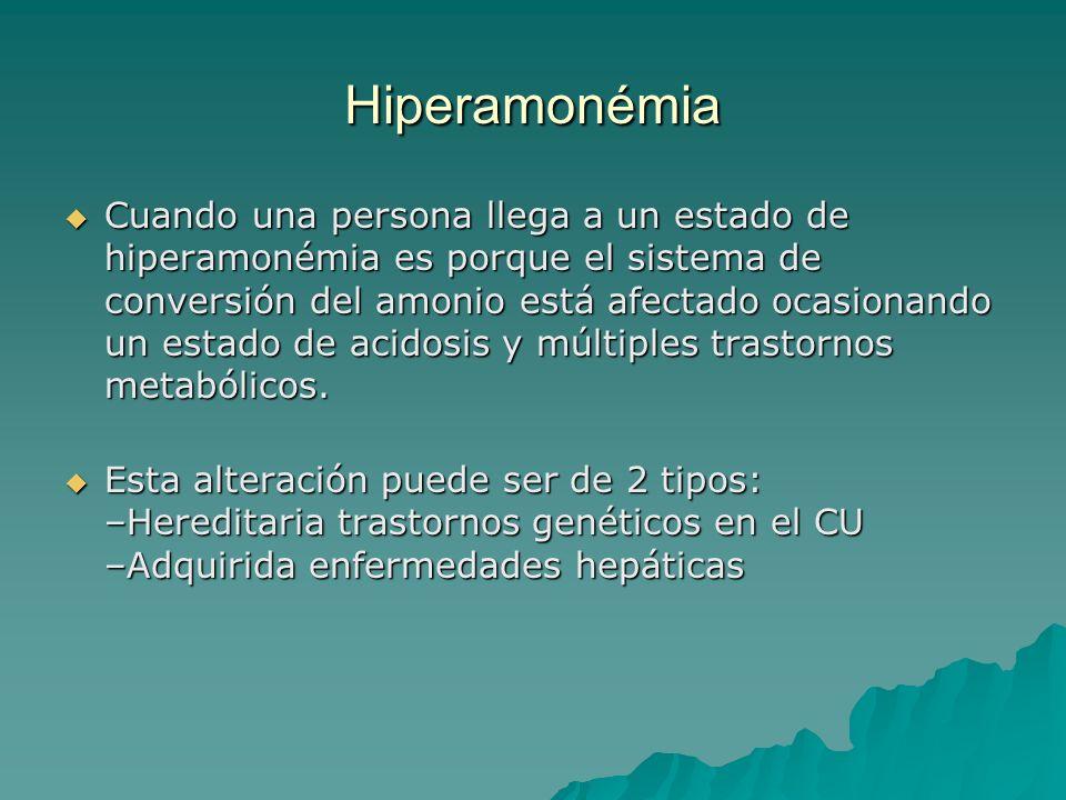 Hiperamonémia