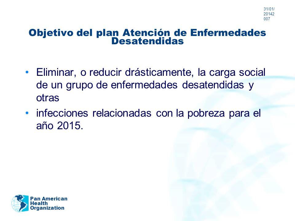 Objetivo del plan Atención de Enfermedades Desatendidas
