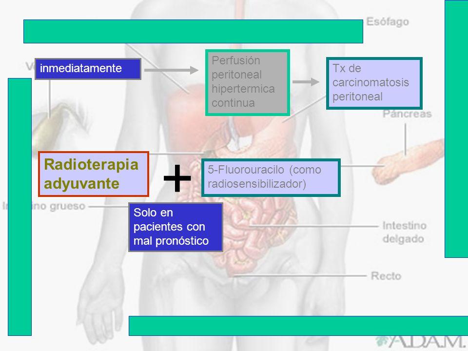 + Radioterapia adyuvante