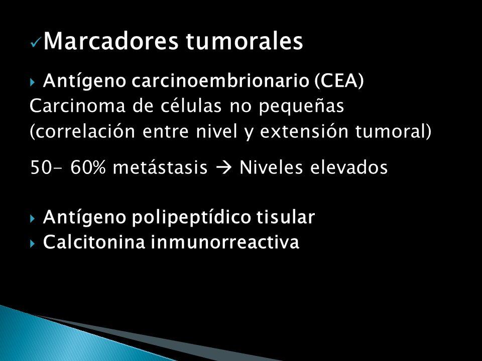 Marcadores tumorales Antígeno carcinoembrionario (CEA)