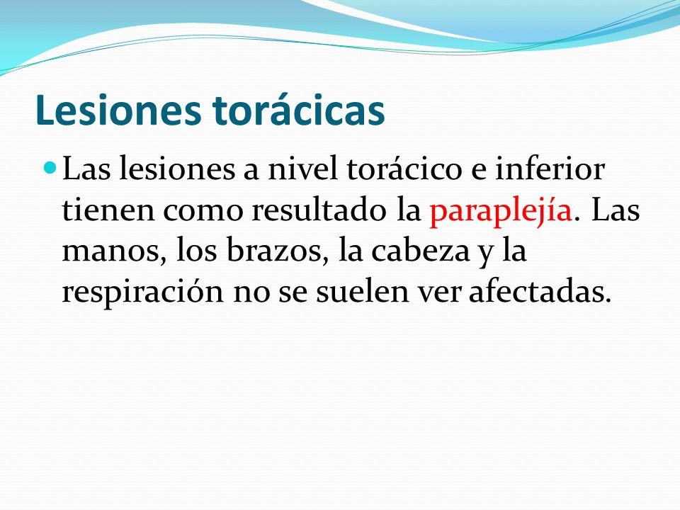 Lesiones torácicas
