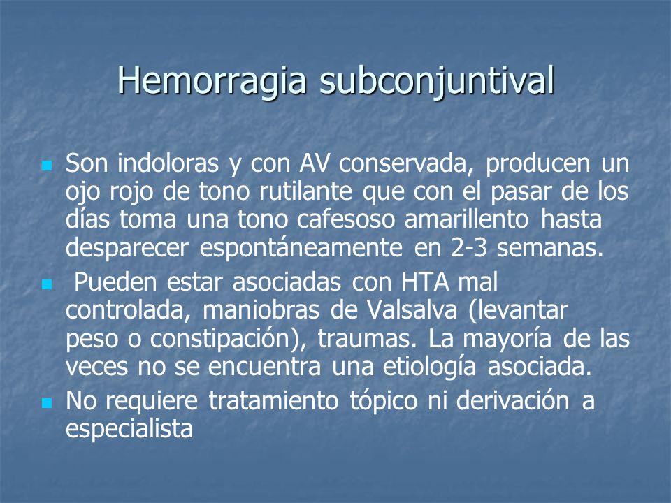Hemorragia subconjuntival