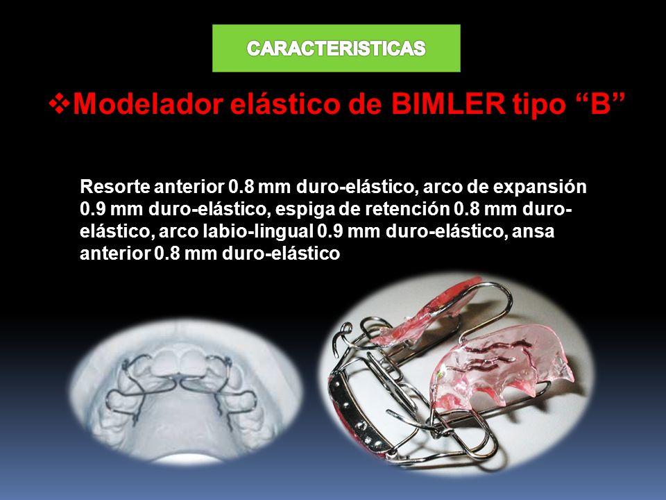 Modelador elástico de BIMLER tipo B