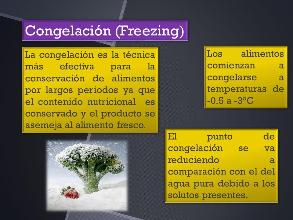 Congelación (Freezing)