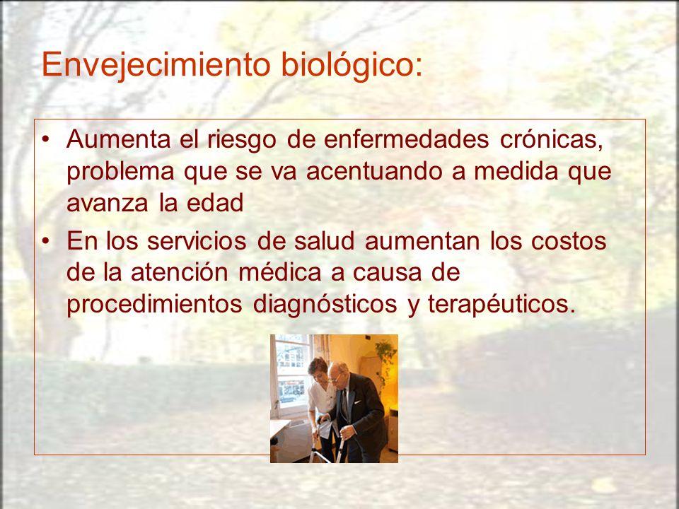 Envejecimiento biológico: