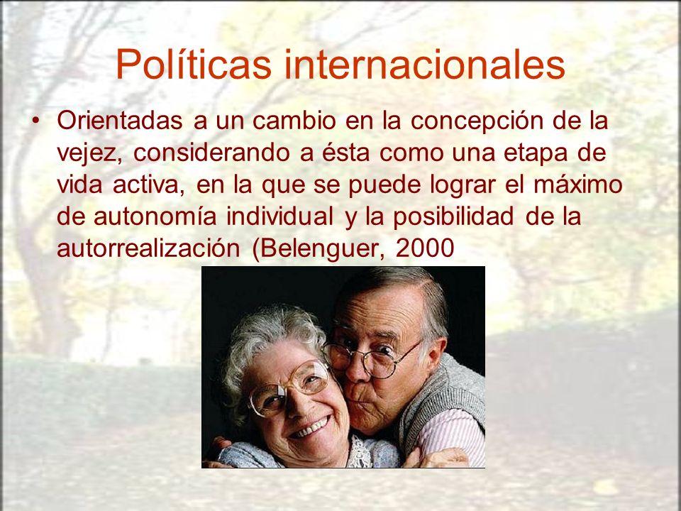 Políticas internacionales