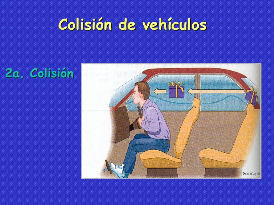 Colisión de vehículos 2a. Colisión
