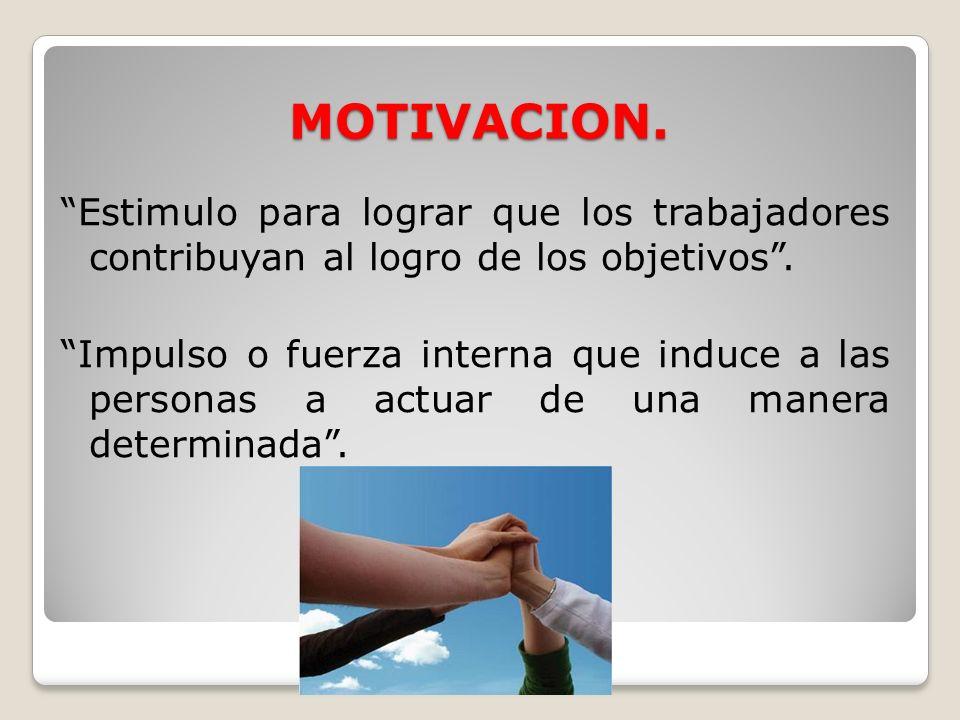 MOTIVACION.